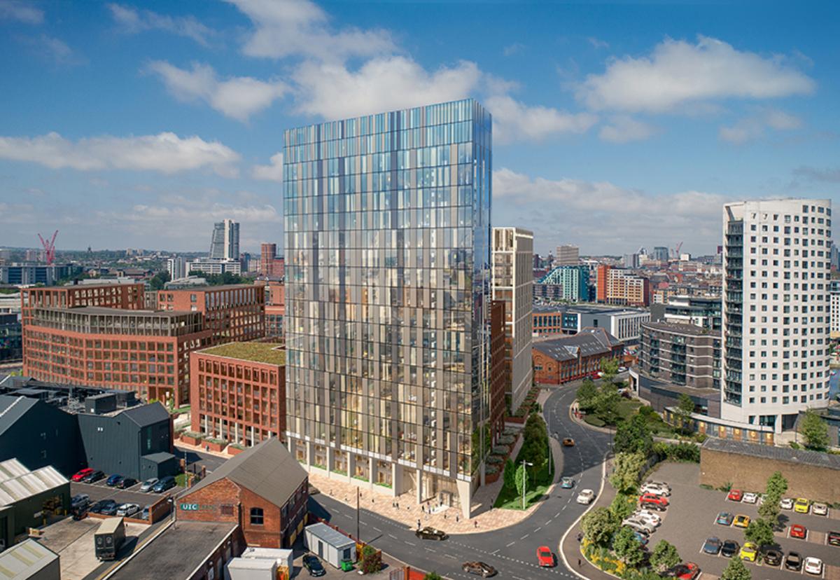 Plan for Hunslet Road site, near Leeds Docks