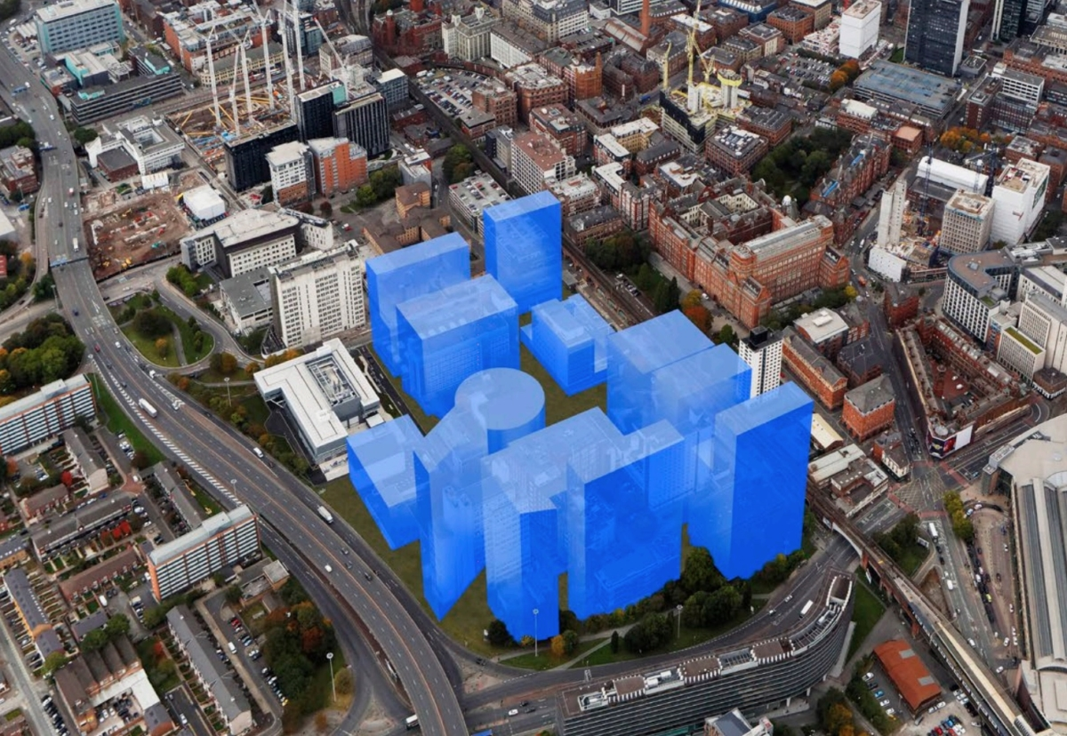 Masterplan for new Manchester science and innovation district