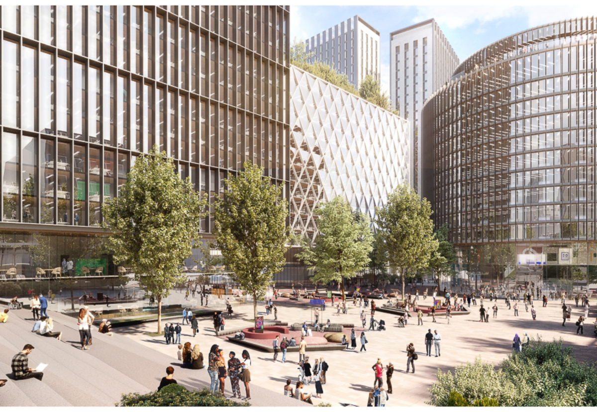 ID Manchester neighbourhood would be an engine for economic growth and could create over 10,000 jobs