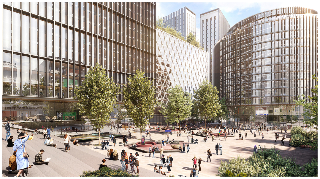 ID Manchester, a science and technology hub, will be built on a 26-acre site at its North Campus, nearPiccadilly Railway Stationin the city.