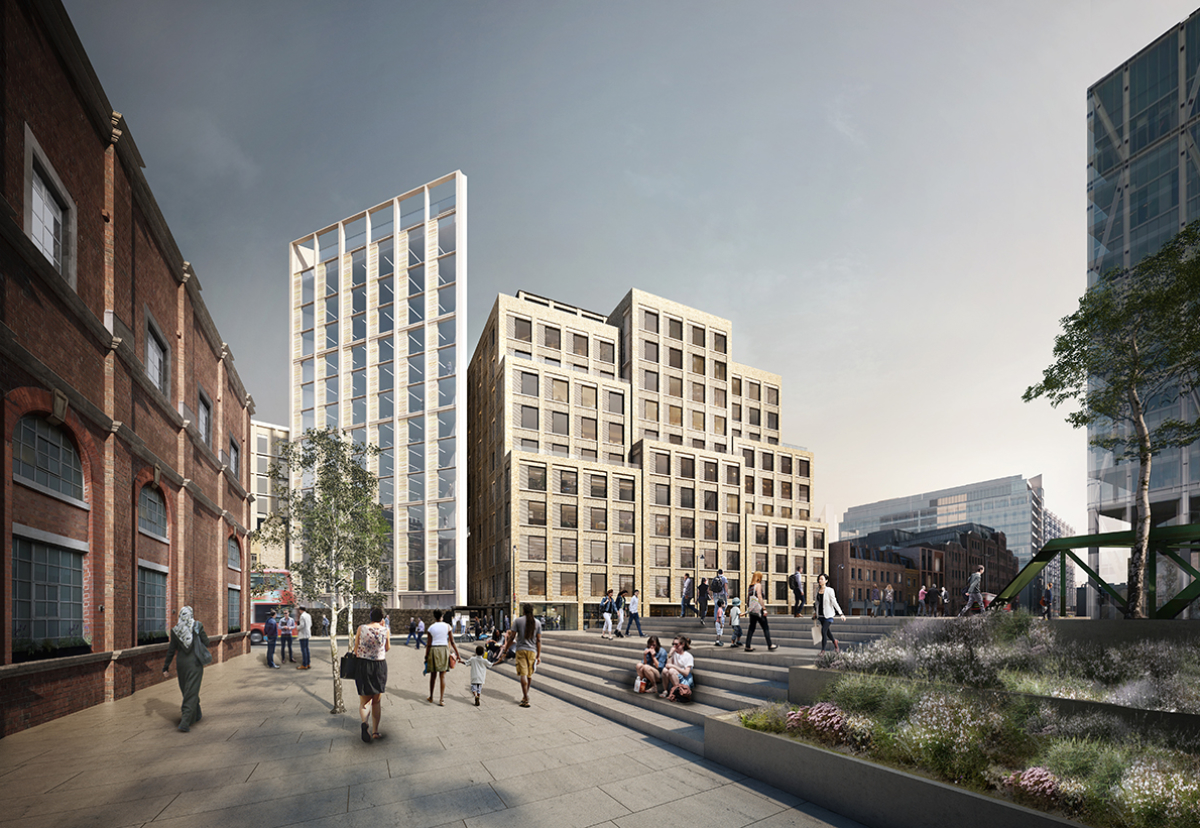 Blossom Street win near London's Spitalfield's market completed a £343 haul of work at the start of 2019