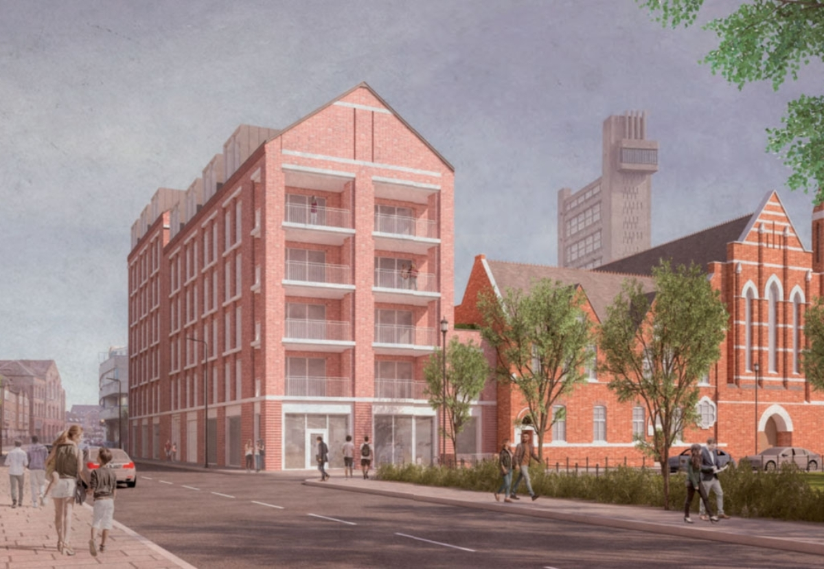 Kensal Road project forms part of the council's 600-unit New Homes Programme