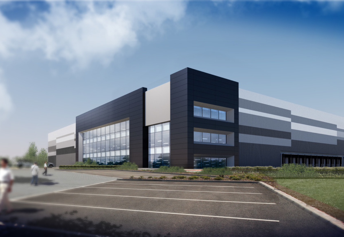 The planned 2.94m Jaguar Land Rover distribution centre