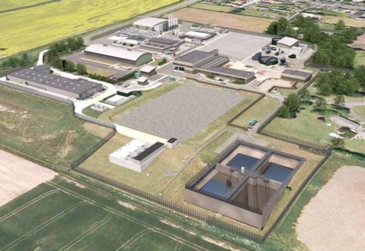 Horsley Water Treatment Works project in Northumberland