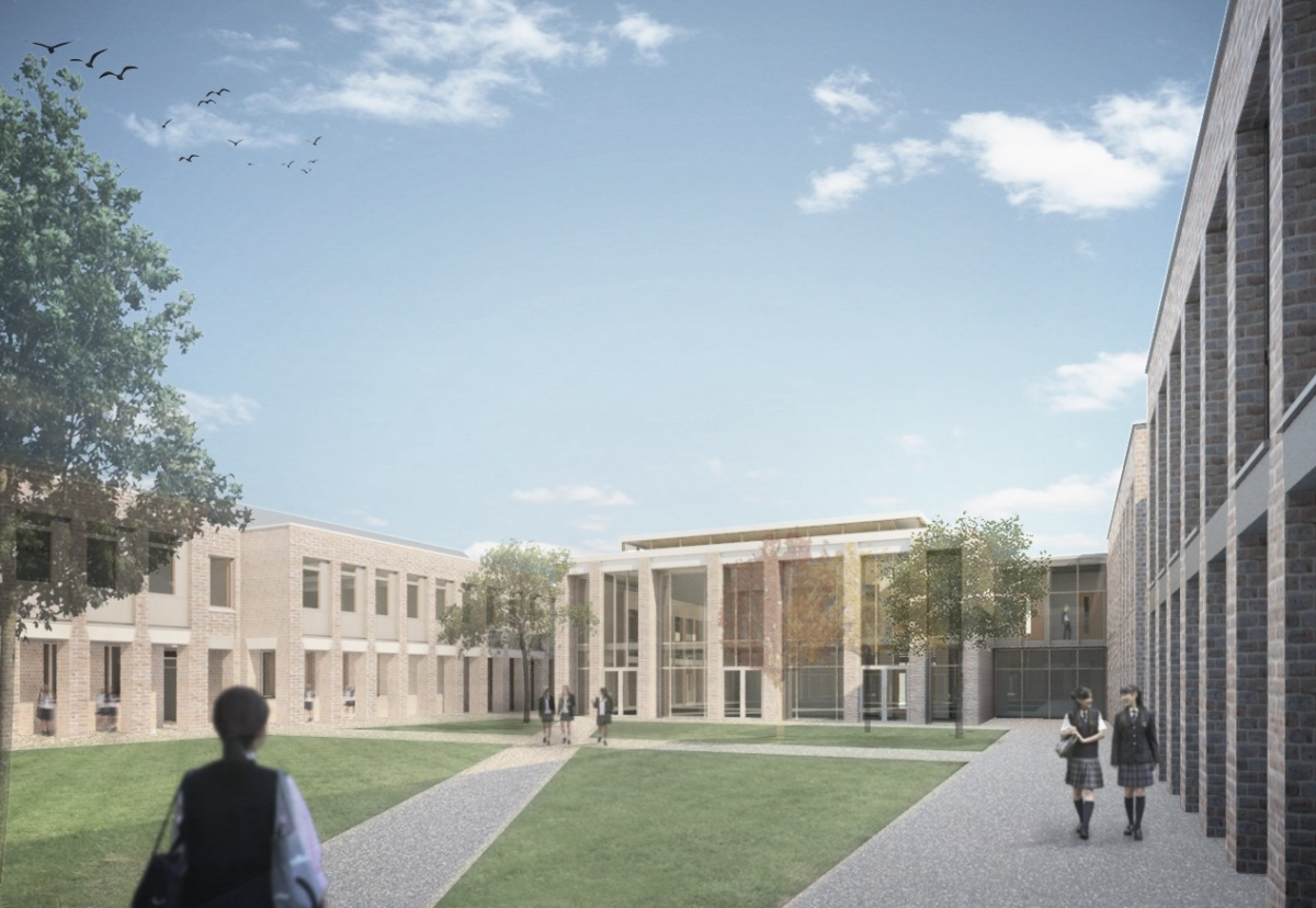 How the new King's High School for Girls will look