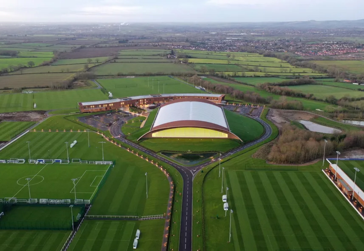 Recently completed projects include the new Leicester City FC training ground