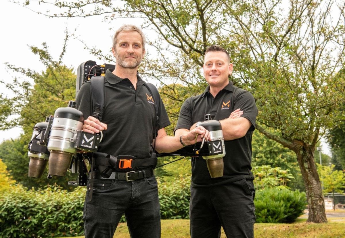 Maverick Aviation CTO Matt Denton and CEO Antony Quinn