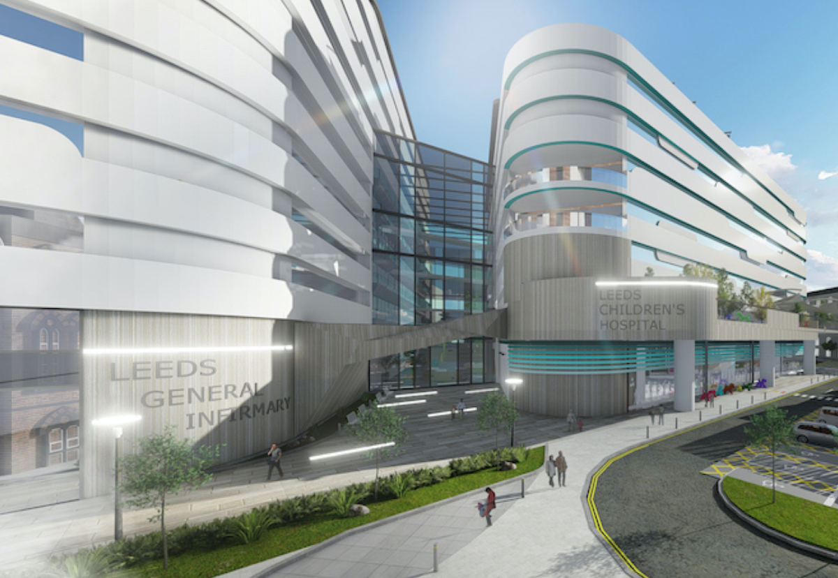 £450m Leeds general infirmary project gets final nod