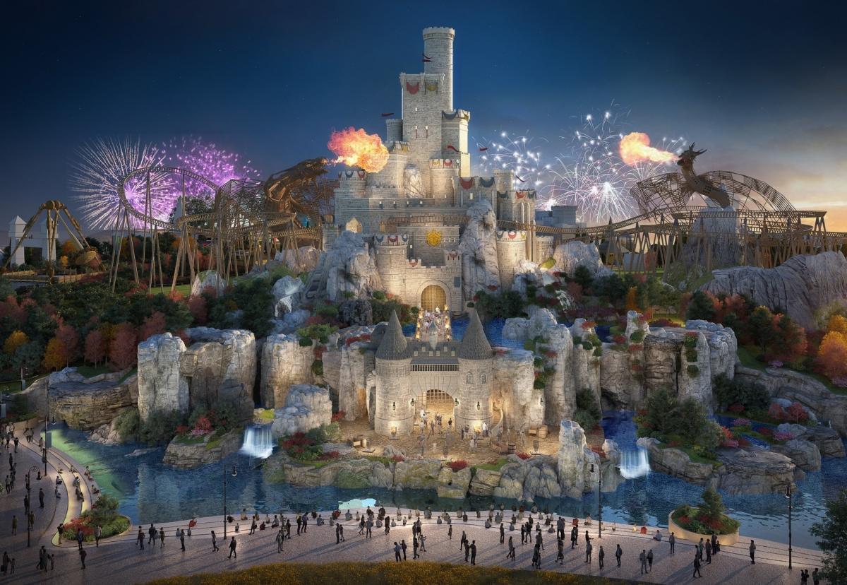 Vast theme park in Kent to be split into six distinct lands