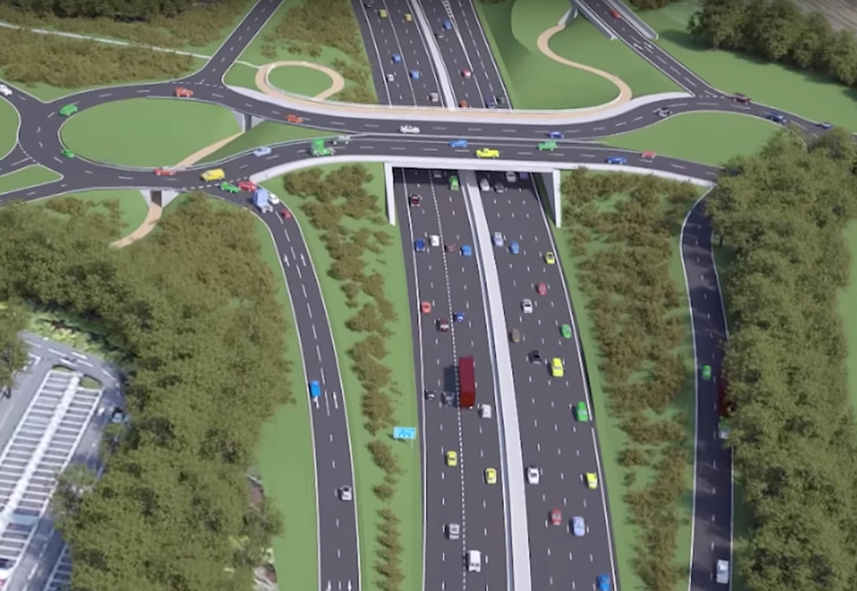 £130m M3 dumb-bell junction plan unveiled