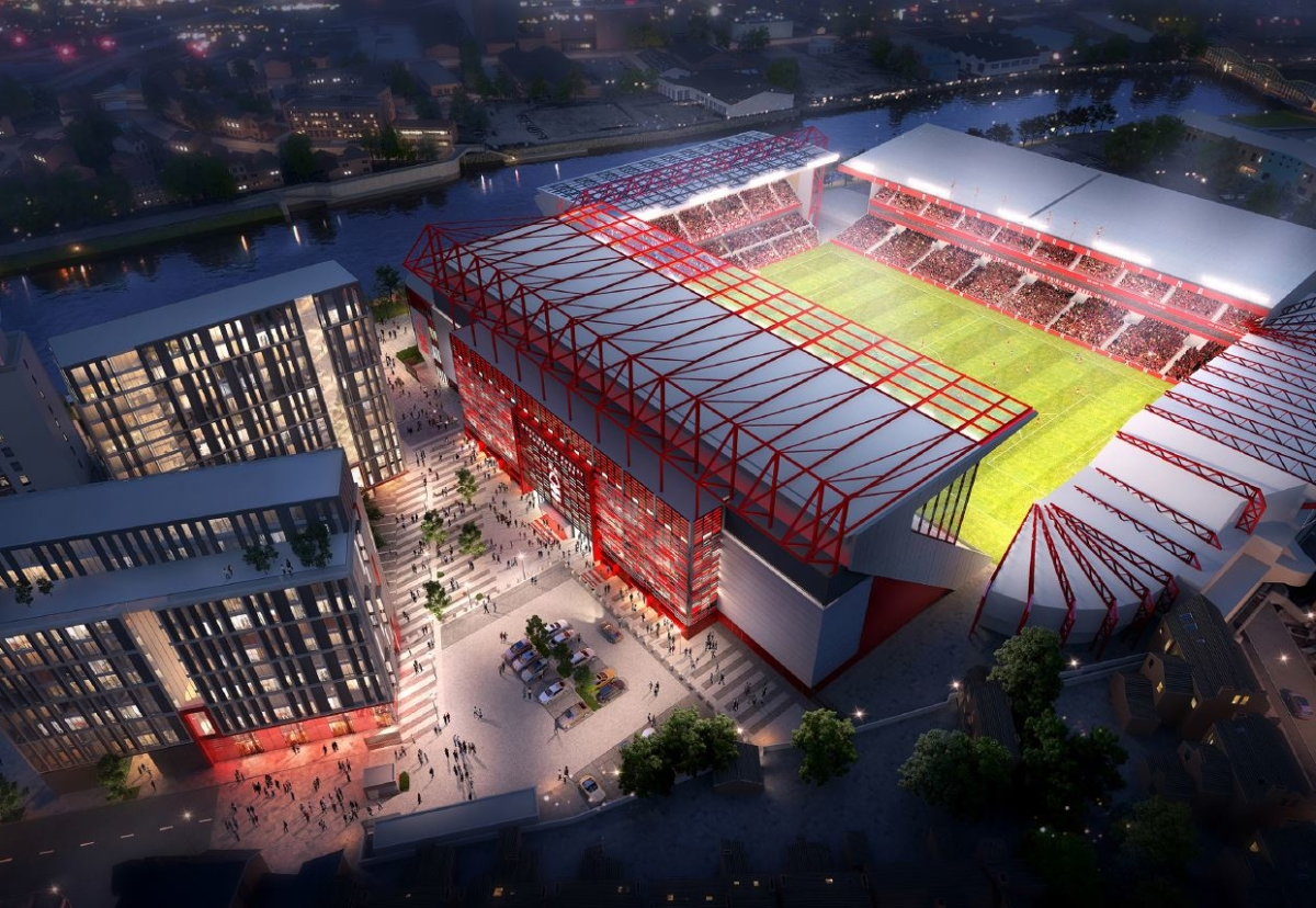 Job will increase the seating capacity of the stadium by 5,000