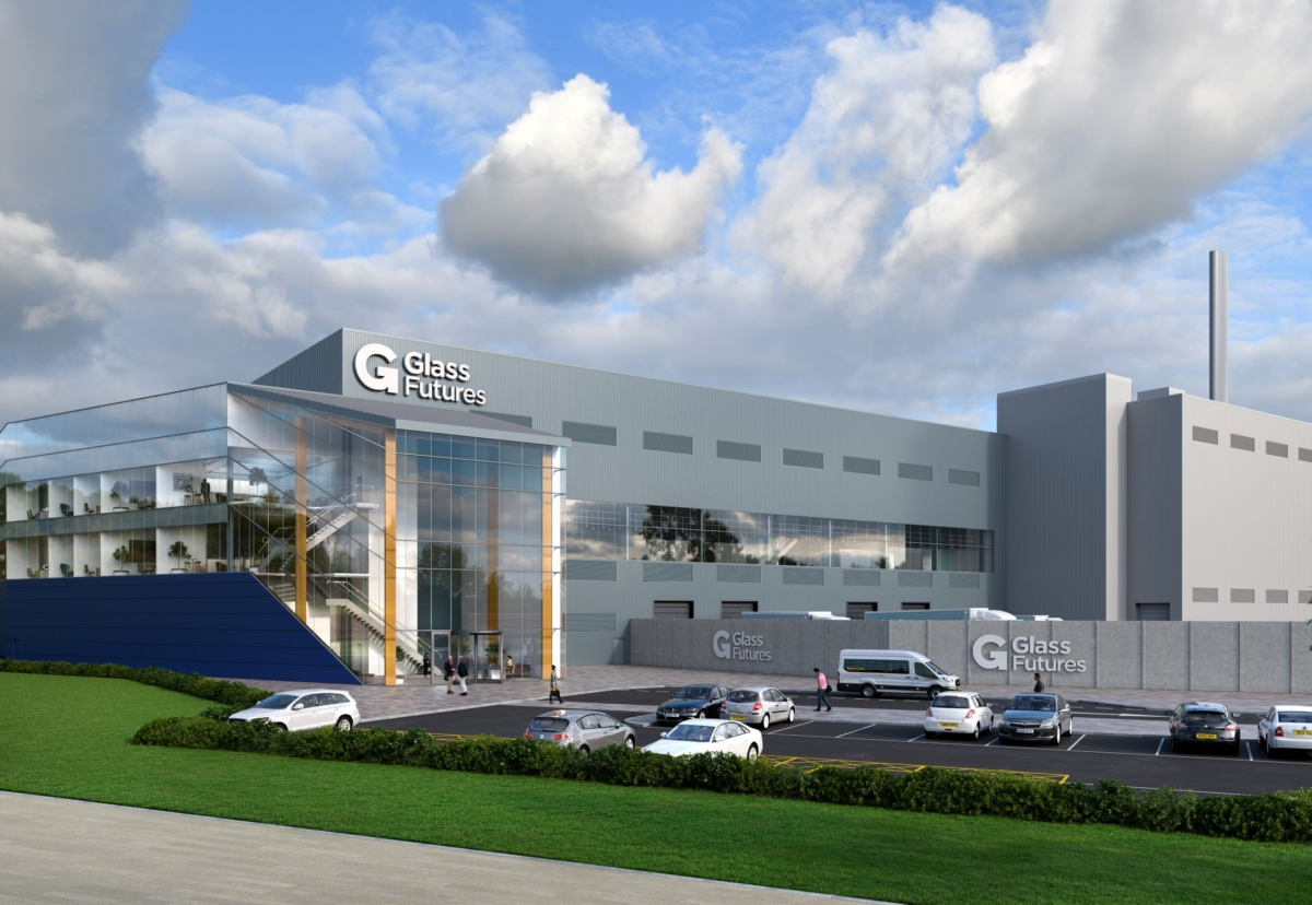 Plan for £54m centre to revolutionise glass industry - Construction Enquirer