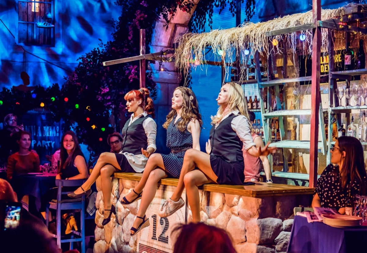 Created by ABBA's Björn Ulvaeus, Mamma Mia! The Party will recreate the film experience with a show, gourmet Mediterranean meal and disco all in one
