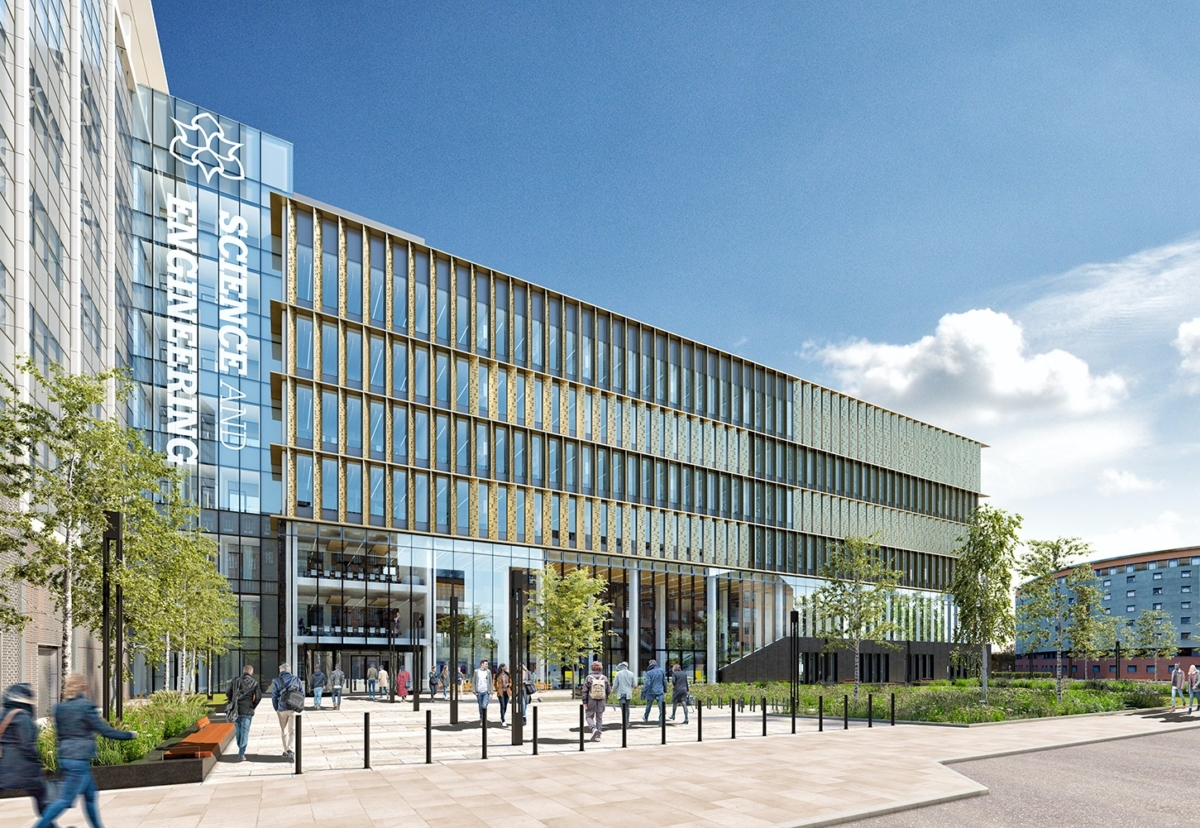 Architect BDP drew up plans for the new faculty with Hoare Lea as MEP consultant