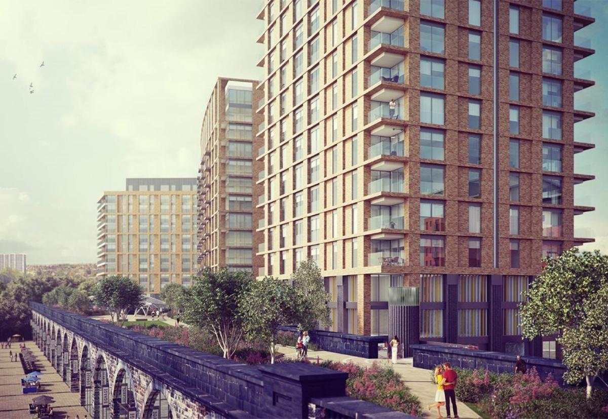 Architect Carey Jones Chapman Tolcher designed the five blocks on Whitehall Road in Lower Wortley
