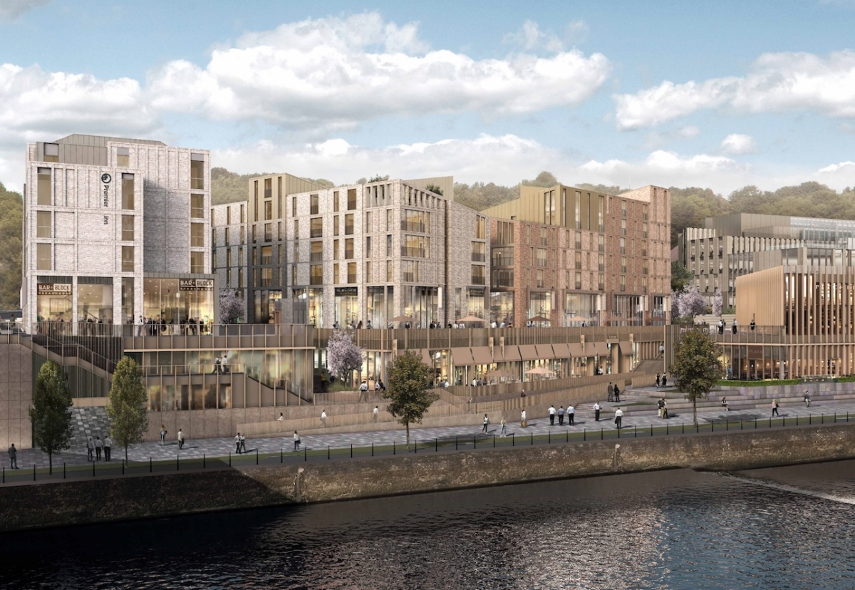 Among the big contract wins last month, regional contractor Tolent secured the£120m  Milburngate riverside scheme in Durham