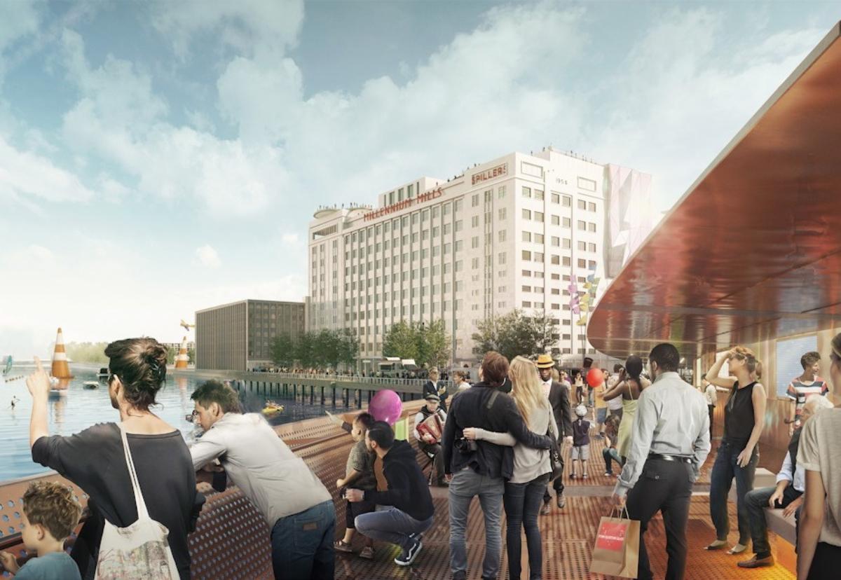Redevelopment of Millennium Mills will still form the centrepiece of phase 1