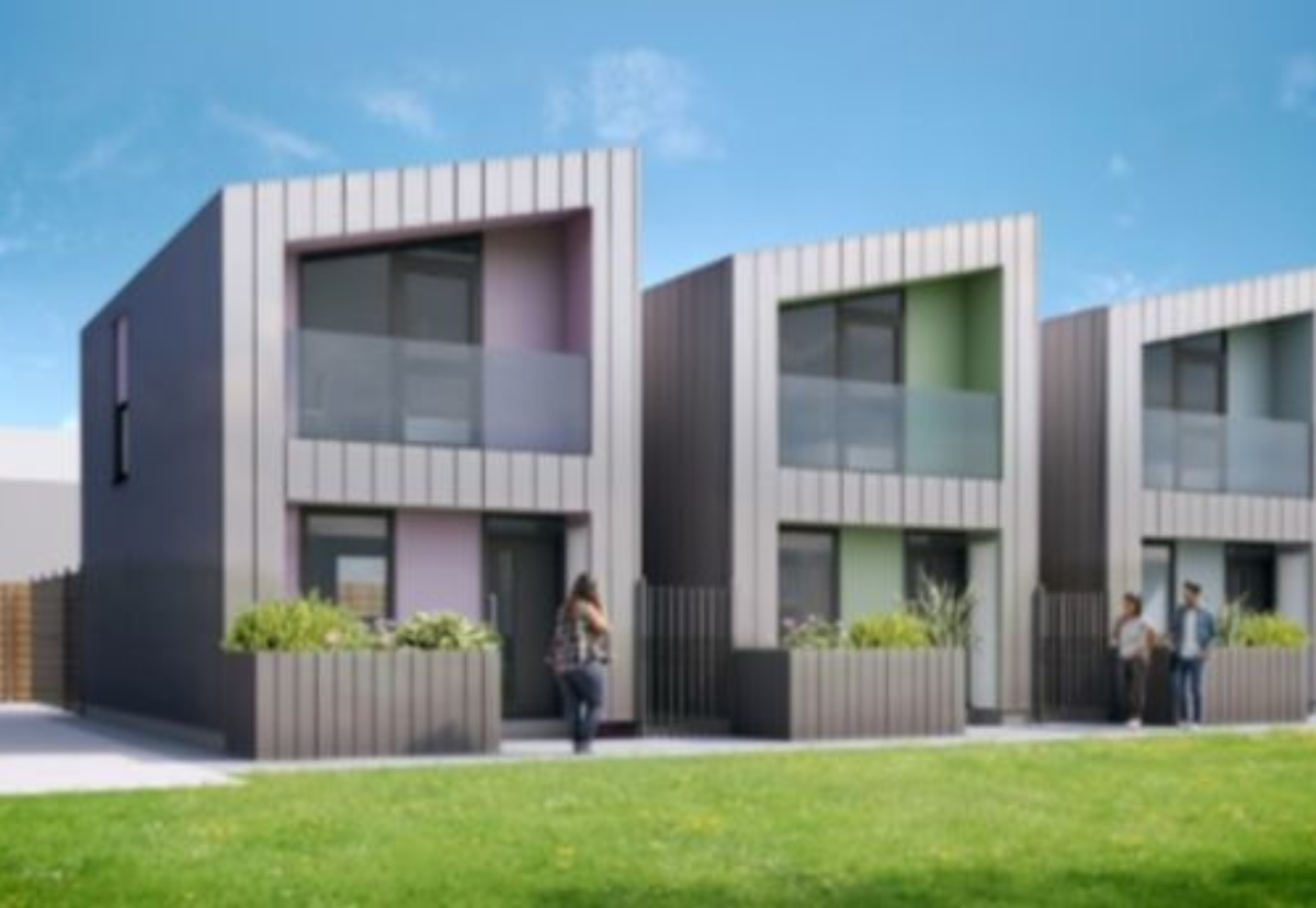 One of five new prototype homes styles being considered