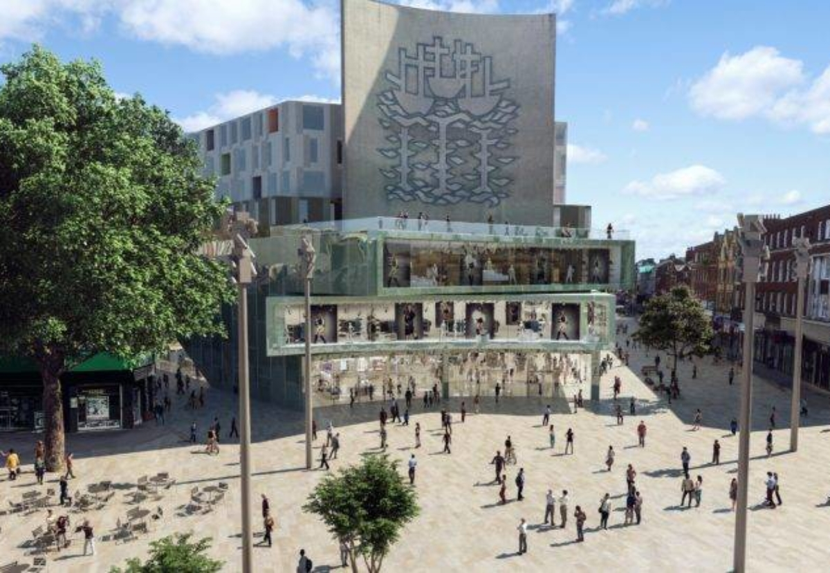 AFL Architects designed the Albion Square masterplan