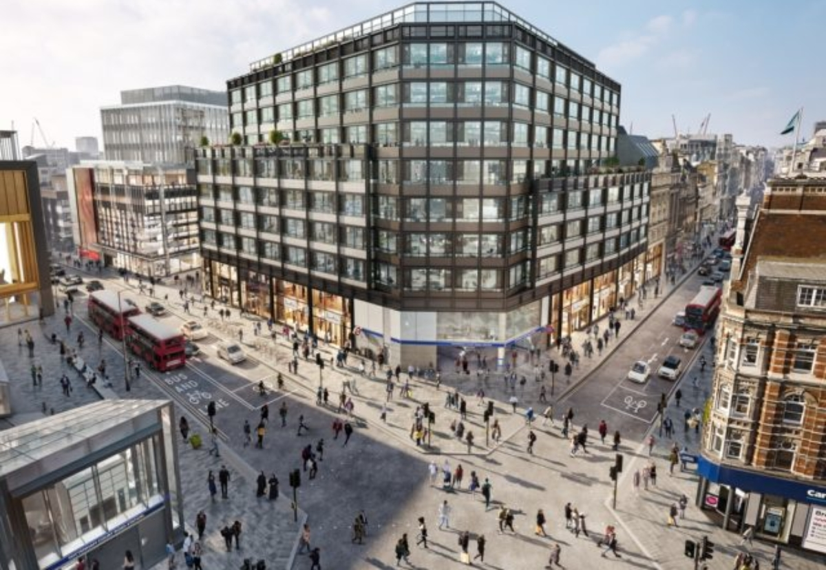80 Charlotte Street project in London will be Derwent's first 'all-electric' building
