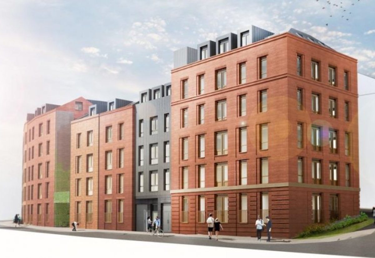 Work starts this month on a 188-bed student accommodation project on Park Lane in Leeds