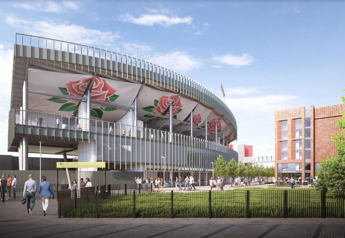 New stand and hotel extension will complete the redevelopment of Emirates Old Trafford