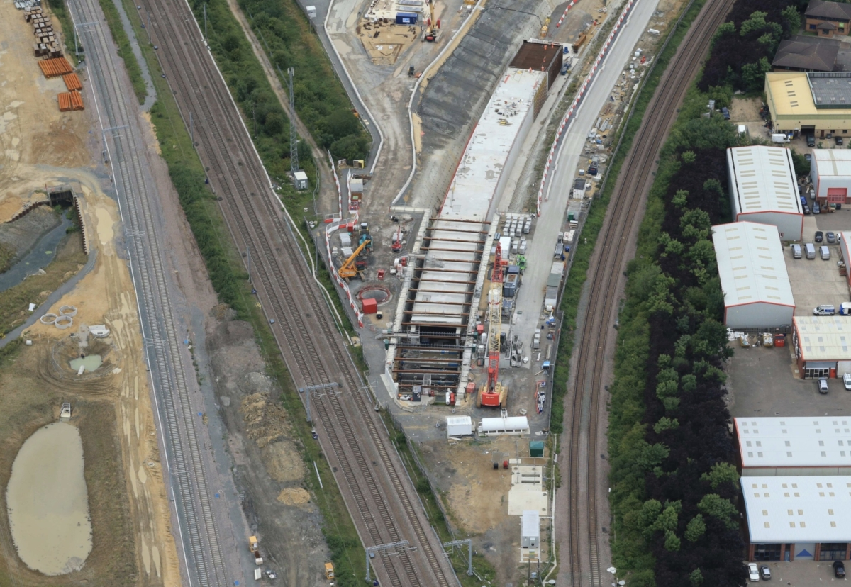 Picture courtesy of Network Rail Air Operations