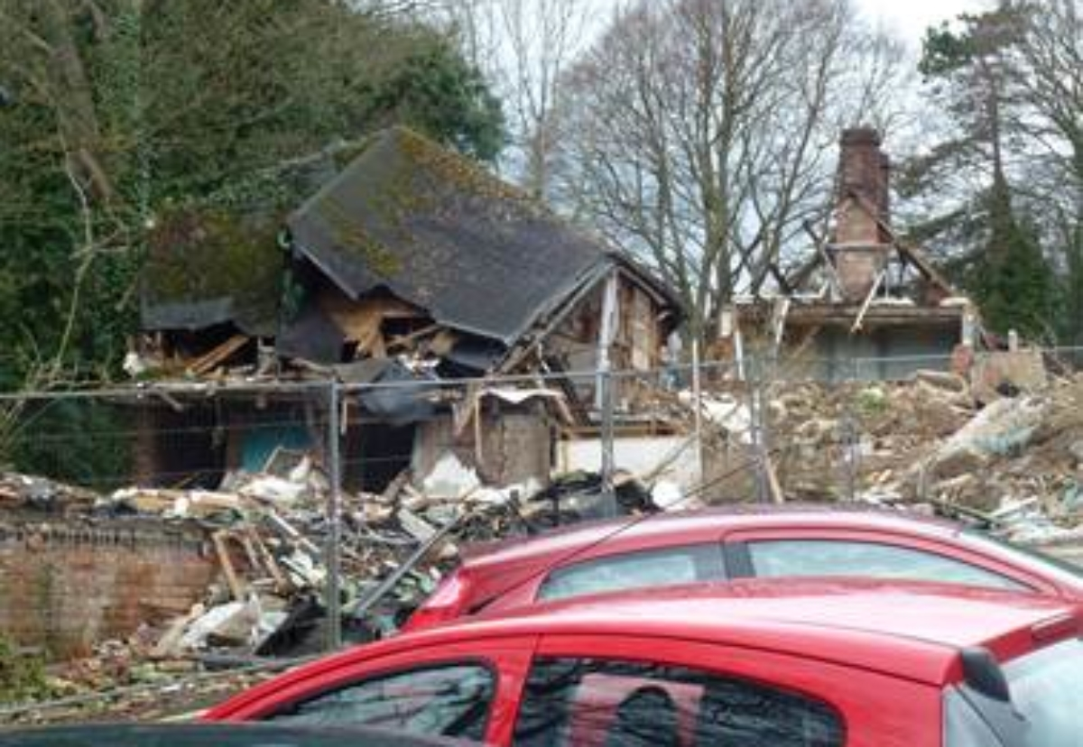 The Chesham site which initially brought Azte Demolition to the HSE's notice