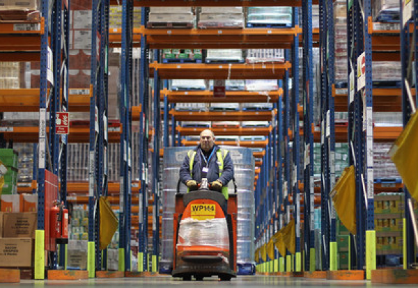 Internet retailers want more space than the construction industry can currently cope with