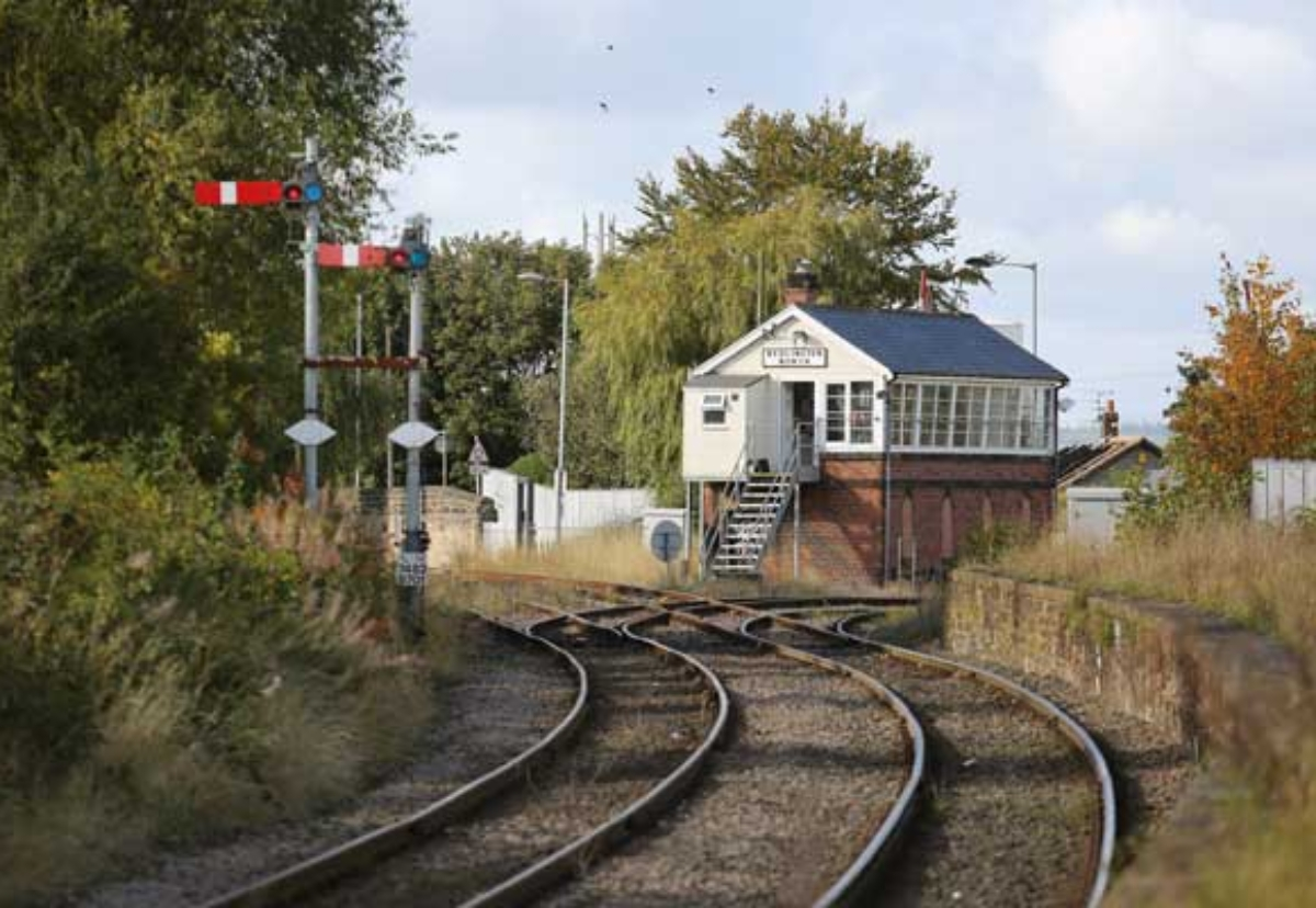 Whistle blows for Northumberland Line £40m stations job