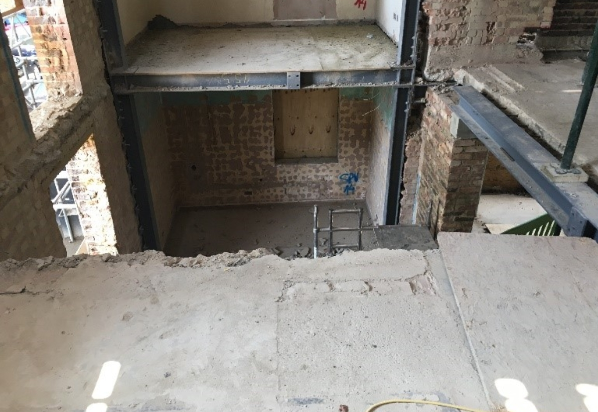 An HSE picture of some of the risks on site
