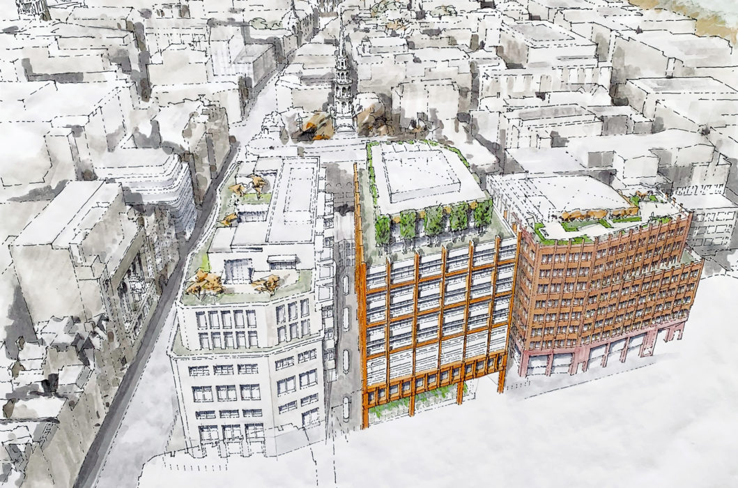 Bidding starts for £300m London court and police complex