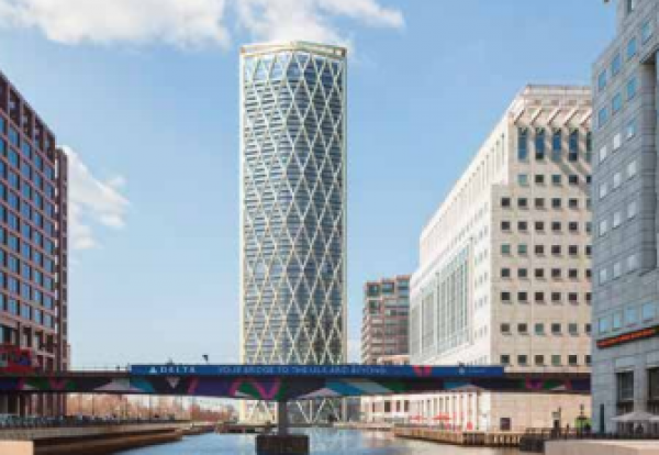 Canary Wharf Resi Skyscraper Race Hots Up