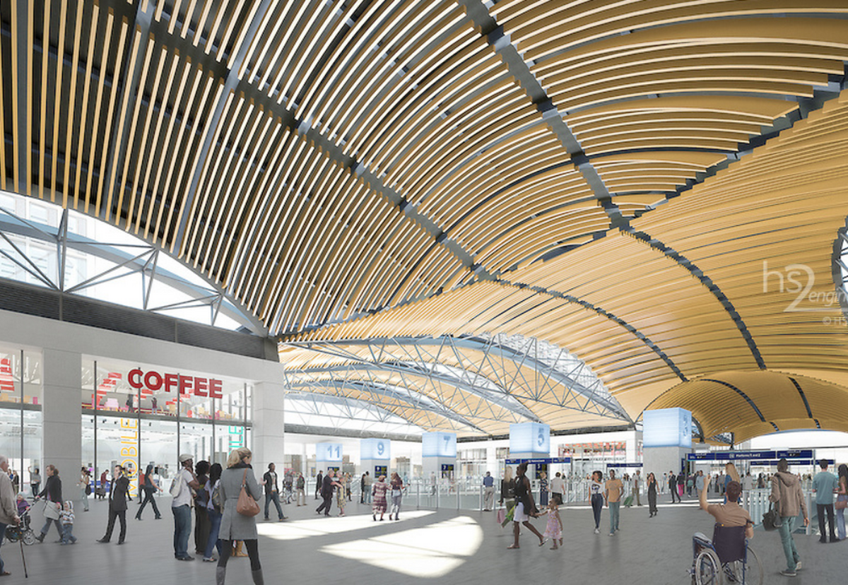 Bidders shortlisted for £3bn HS2 London stations
