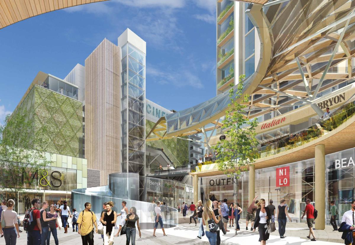 Eden Walk shopping centre plan