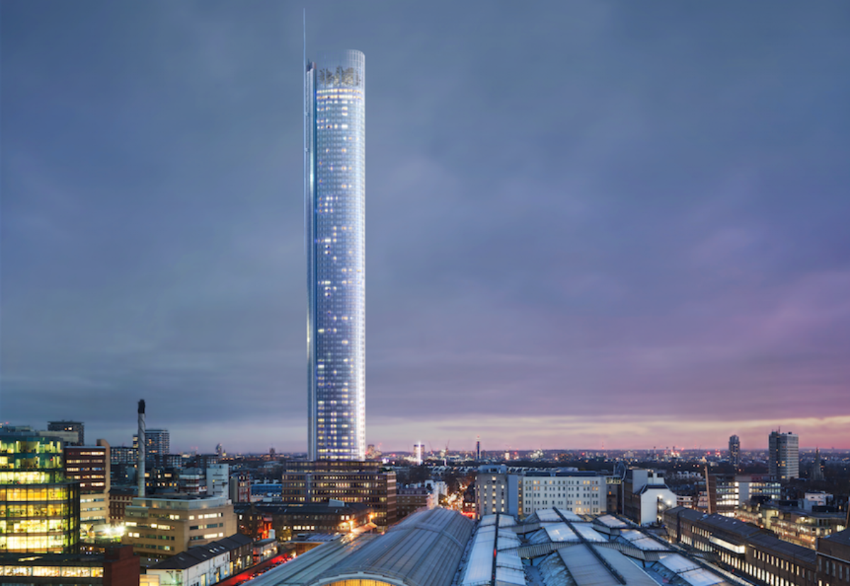 72-storey tower looks set to be cut down to size as  developers go back to the drawing board