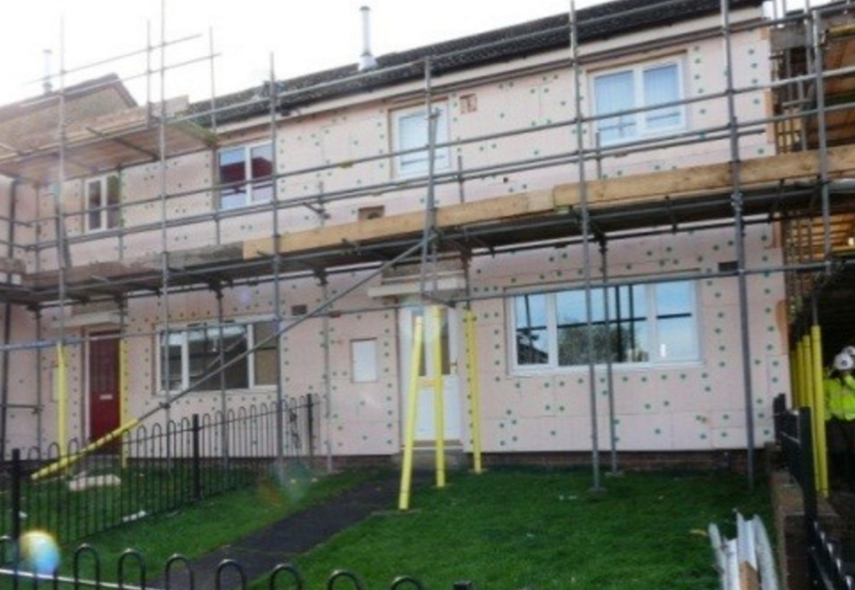Solid wall insulation work will start on first homes next month
