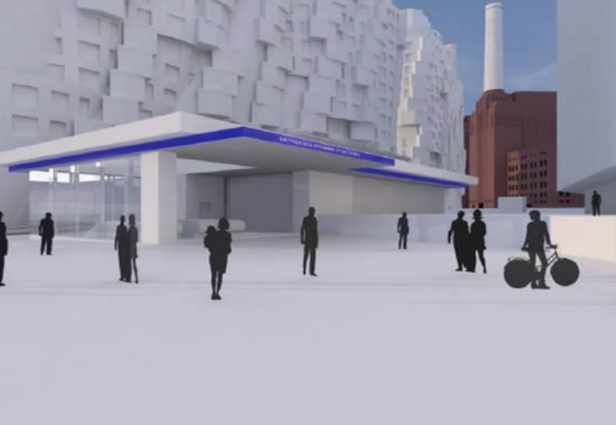 Original designs for over-station developments have been significantly revised