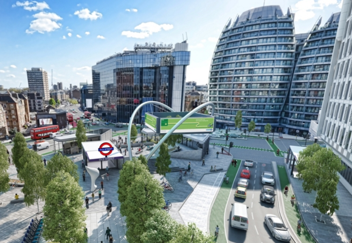 £25m transformation of Old Street roadabout is likely to be one of projects carried out under new framework