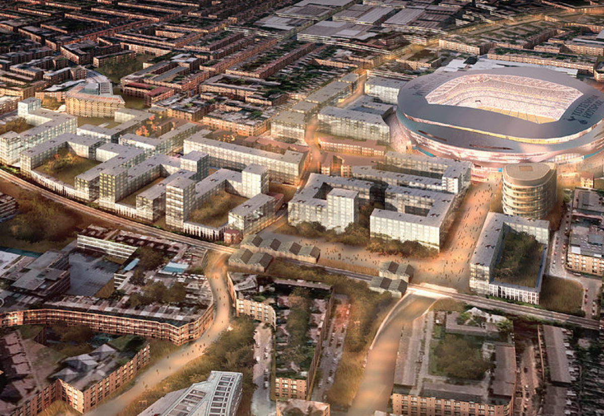 S333 Architecture and Arup drew up High Road West masterplan