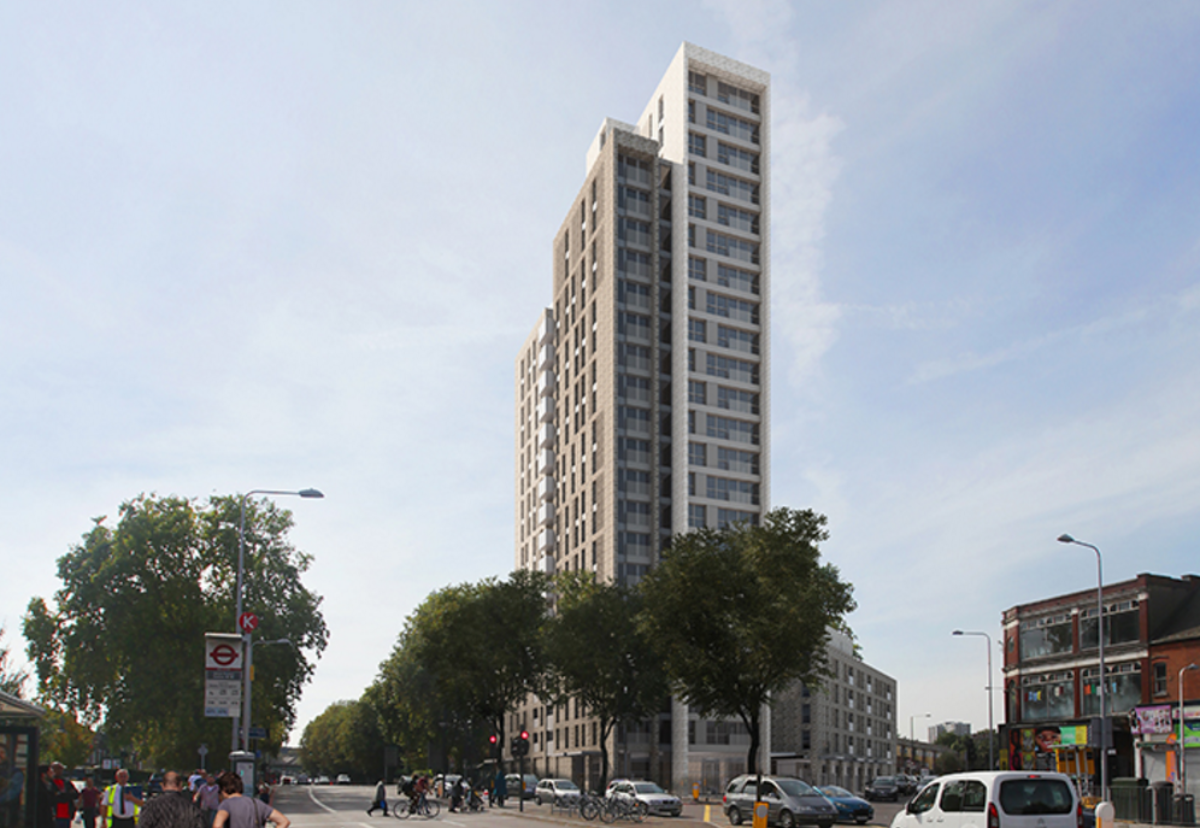 Apex House scheme forms part of the wider  Seven Sisters Regeneration Project