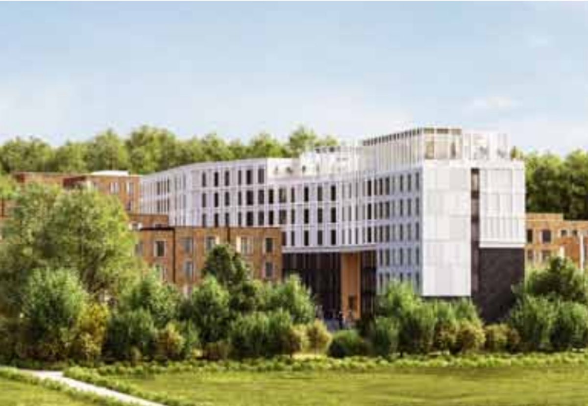 Lindsay Hall scheme is one of three major redevelopment areas that will see some existing accommodation demolished to make way for more student rooms