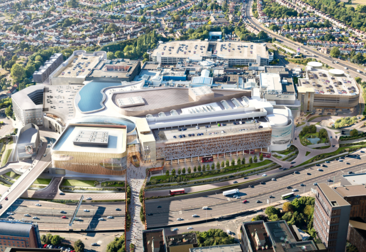 Extension will double the size of Brent Cross shopping centre to 2m sq ft