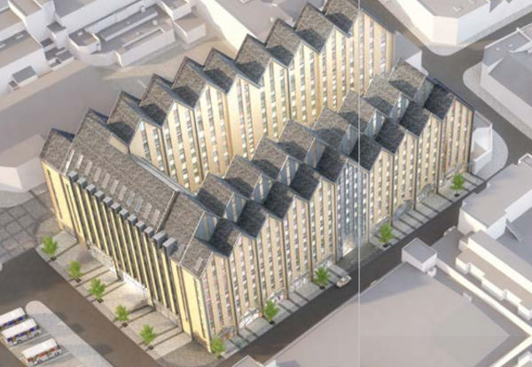 Project to be built between Belgrave Road and Bampfylde Street in Exeter's Grecian Quarter