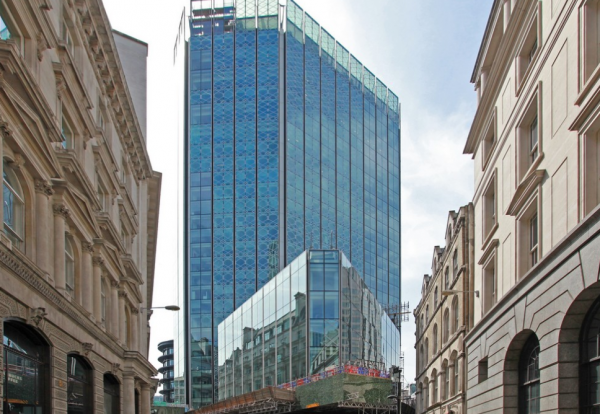 125 Old Broad Street after most recent recladding