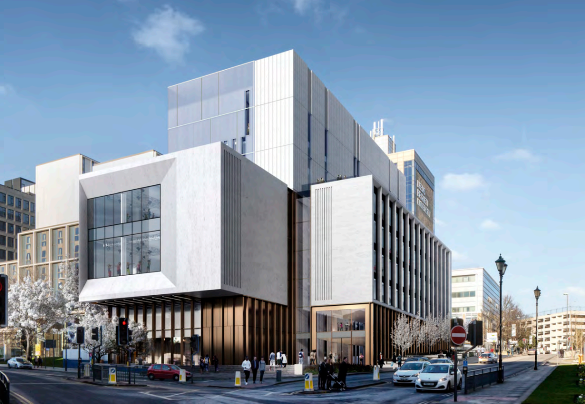 Hawkins Brown designed building to be key part of part of the City's European Capital of Culture 2023 bid