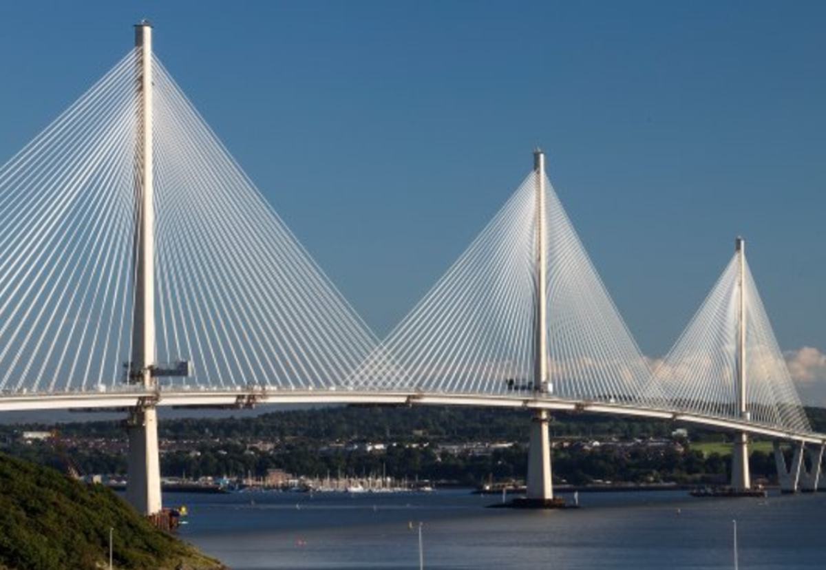 Further hits have been distilled on the completed Queensferry Crossing