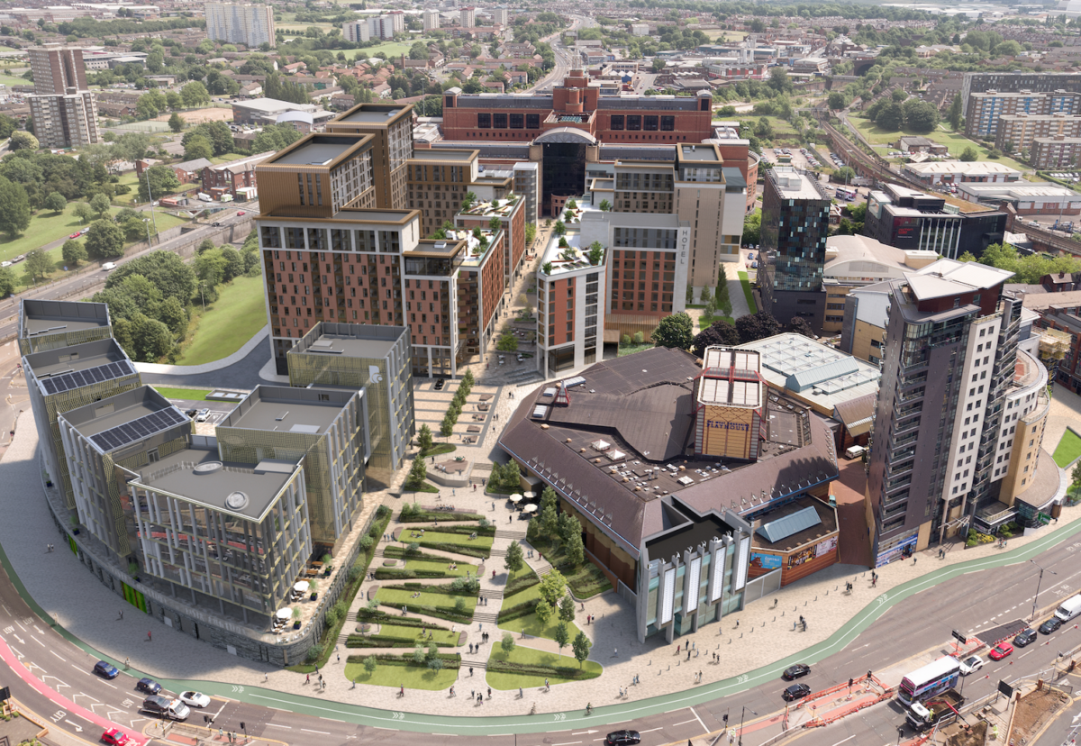 Caddick's SOYO plan for a new New-York style housing and cultural district in Leeds