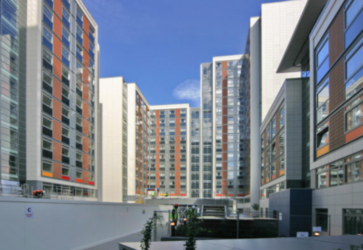 Paragon student and housing estate in Brentford
