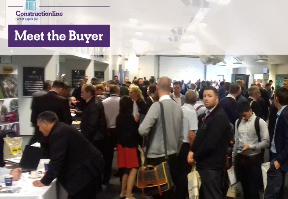 Constructionline hosts popular Meet the Buyer events
